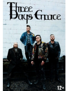 Three Days Grace в Москве